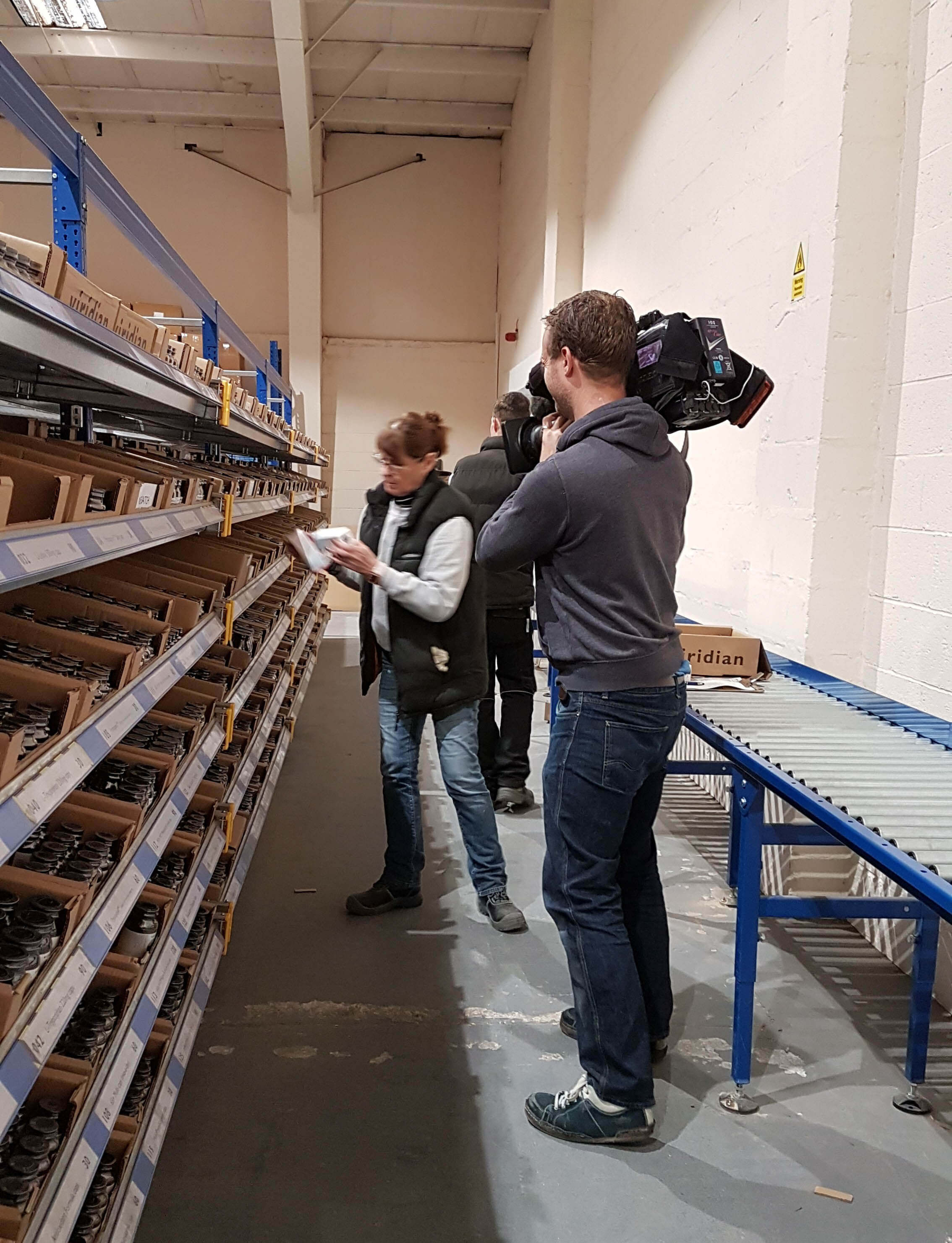 Channel 4 News films at Viridian Nutrition
