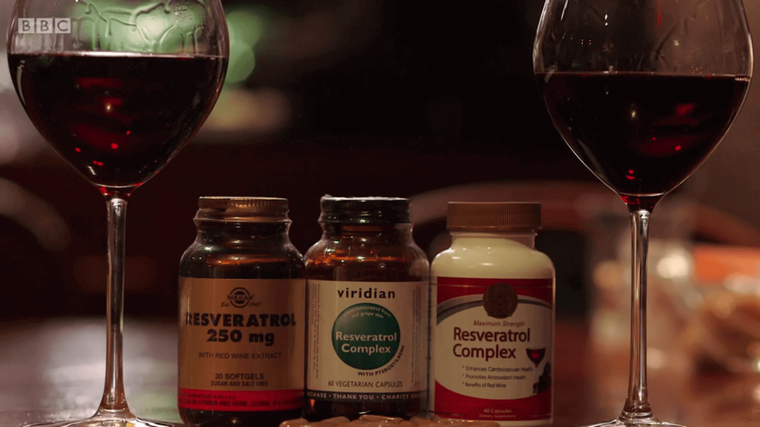 TV appearance for Viridian Nutrition's Resveratrol Complex