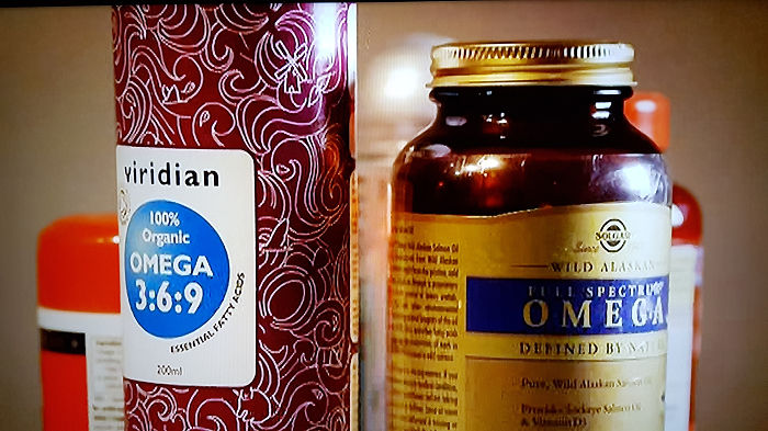Viridian Nutrition's Organic Omega Oil appears on Trust Me I'm a Doctor