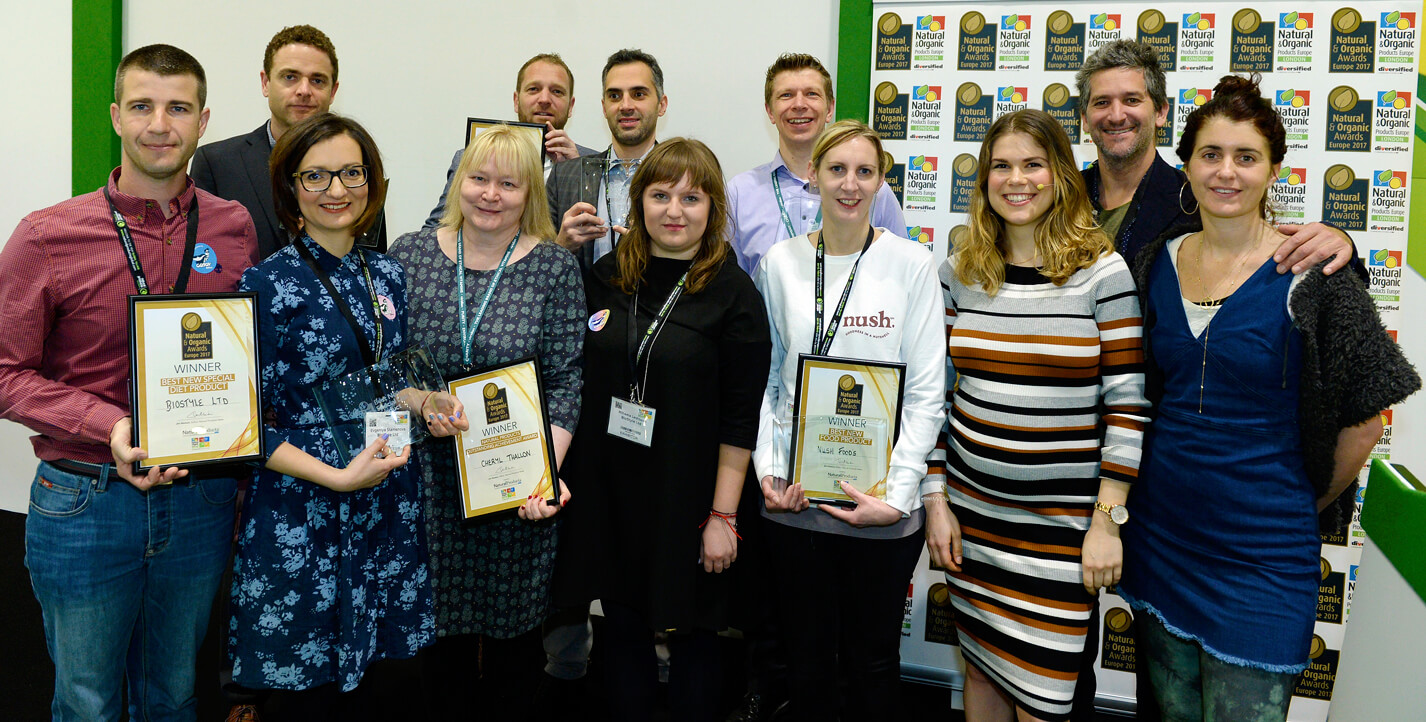 Double award win for Viridian Nutrition at Natural and Organic Products Europe Show