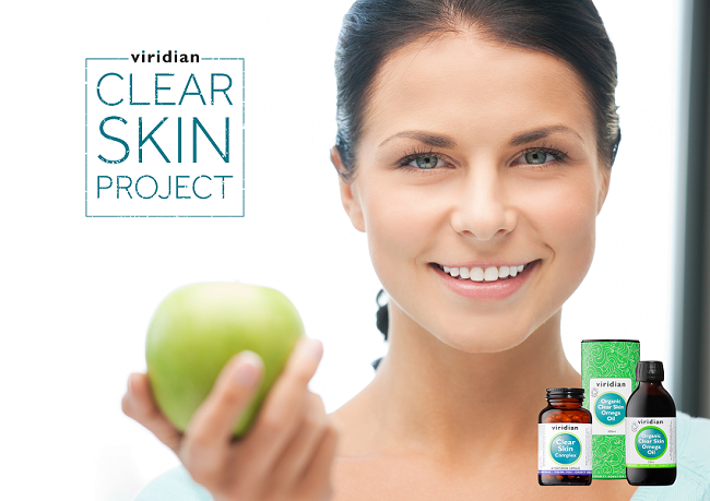 Viridian Nutrition launches Clear Skin Project