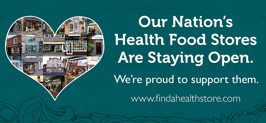 Proud to support Health Stores