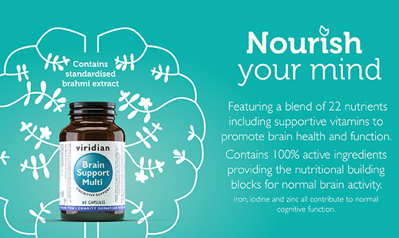 Viridian Brain Support Multi - Nourish your mind