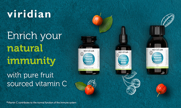 Viridian Organic Acerola collection