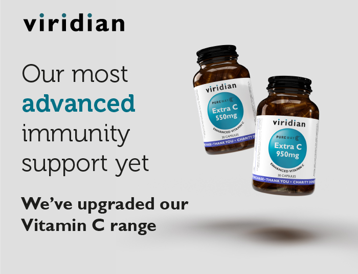 Viridian Nutrition Extra C for advanced immune support