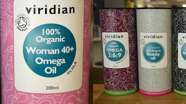 How to Use 100% Organic Woman 40+ Omega Oil by Viridian Nutrition