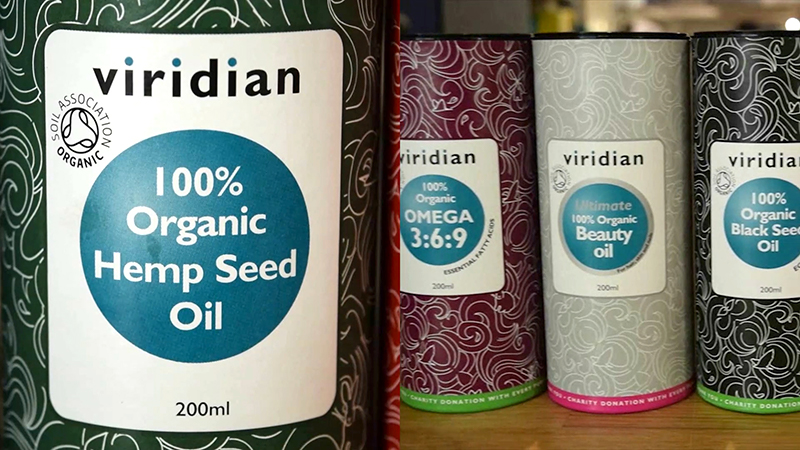 How to Use Organic Hemp Seed Oil by Viridian Nutrition