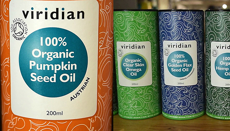 Organic Pumpkin Seed Oil by Viridian Nutrition