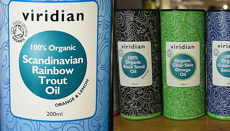 Organic Scandinavian Rainbow Trout Oil by Viridian Nutrition