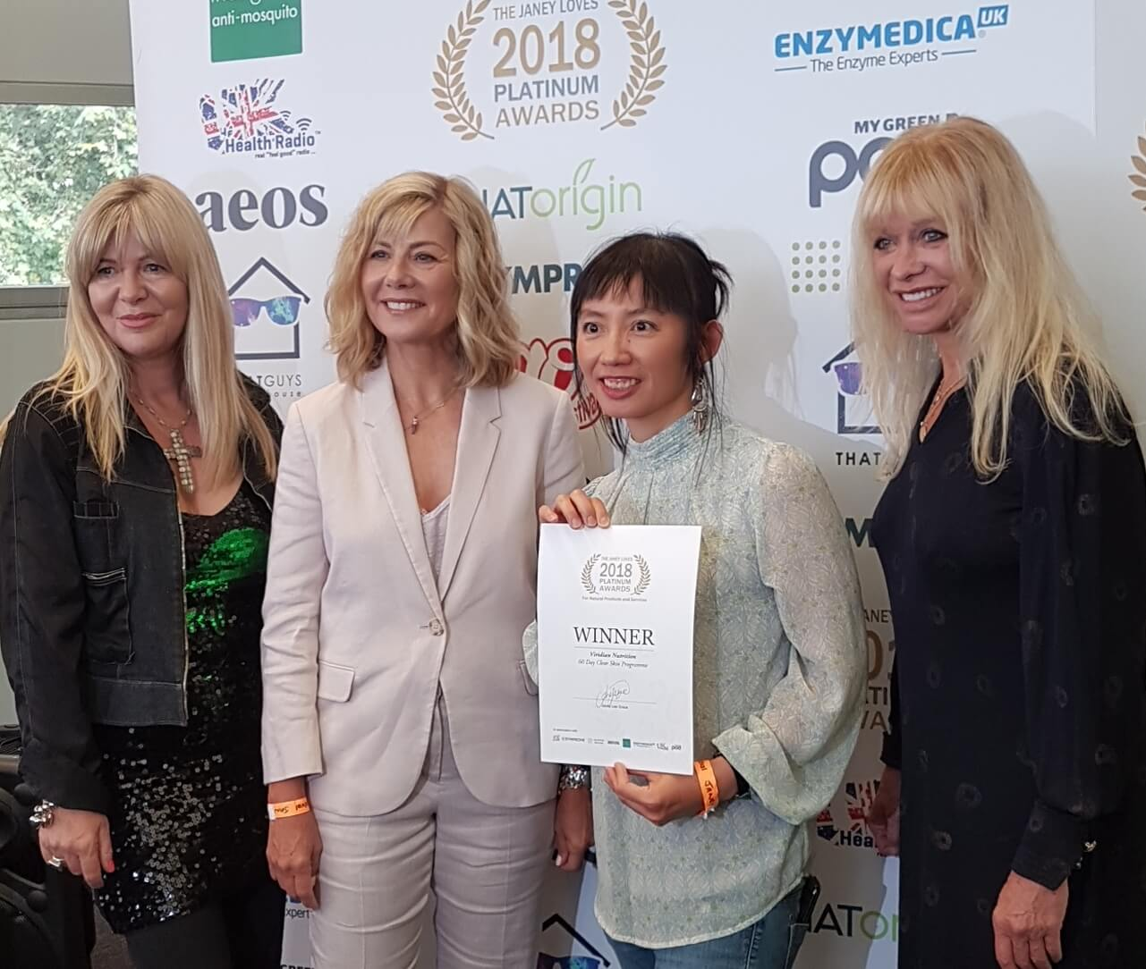 Double award win for ethical vitamin company