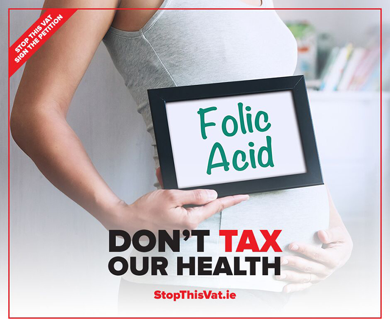 Stop VAT on Irish Health Food Supplements – sign the petition