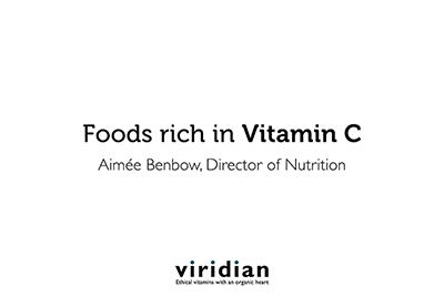 VIDEO: Getting Vitamin C in the diet
