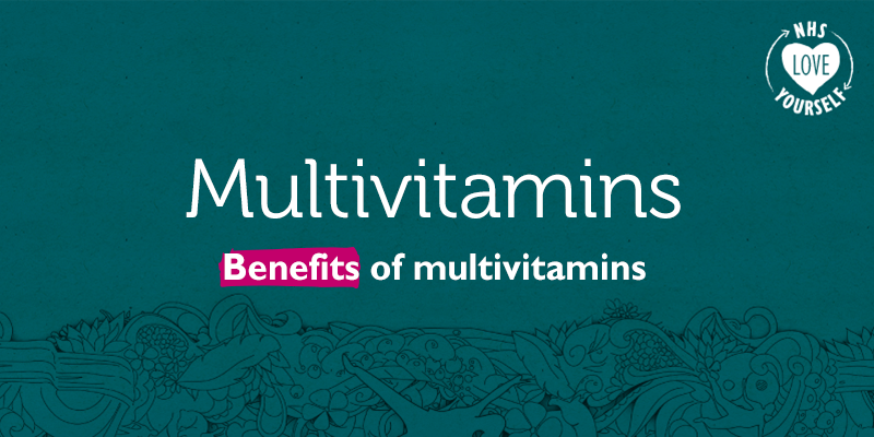 Benefits of multivitamins