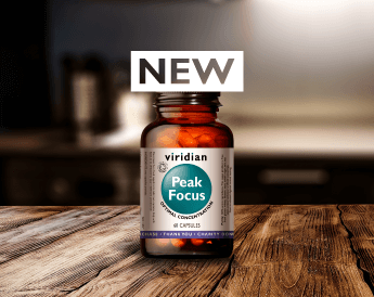 NEW Peak Focus – brain support for optimal concentration
