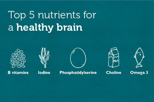 Top 5 Nutrients for brain health