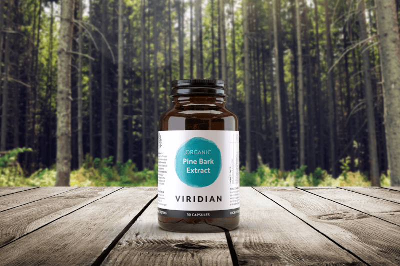 Organic Pine Bark is a UK first by Viridian